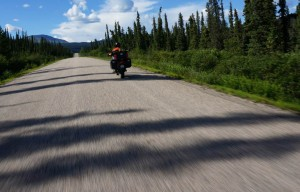 Dave on the Dease Lake Hwy just south of Dease Lake.